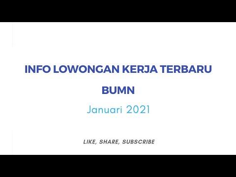 Lowongan Kerja BUMN 2021