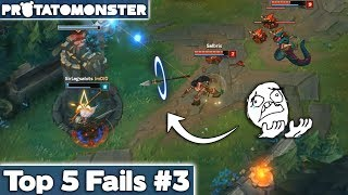 League of Legends Top 5 Fails Week 3 | LoL Funny Moments