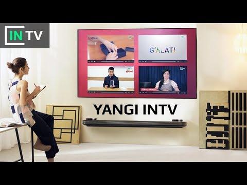 Yangi INTV, eskisini ko'rganmisiz? O'zbekistondagi ilk internet telekanal