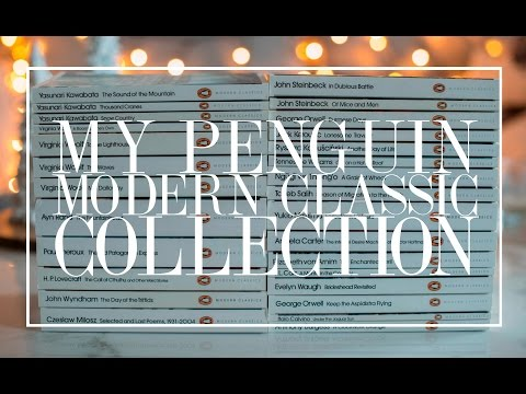 My Penguin Modern Classic Collection | The Book Castle
