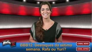 BBB12: Fabiana manda Rafa e Yuri ao paredão. Renata diz que mandará o Brasil tomar no c*.