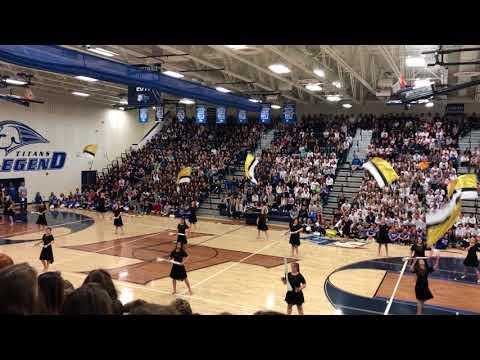 Legend High School Winterguard - School Assembly Performace