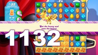 Candy Crush Soda Saga Level 1132 (3 stars, No boosters)