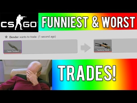CS GO - The Funniest & Worst Trades!
