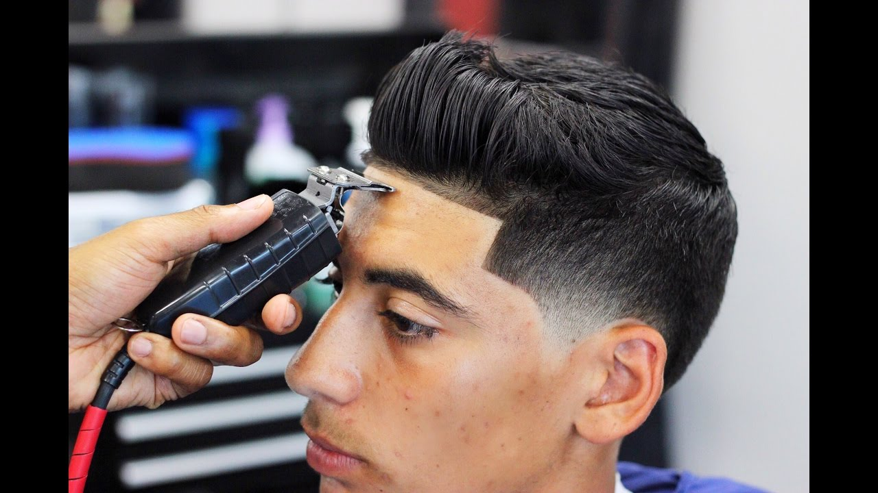 Haircut Tutorial Sean Odonnell Taper Fade Blow Dry And Style Youtube