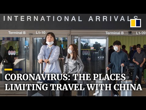 Coronavirus: here are the places and airlines restricting travel to China