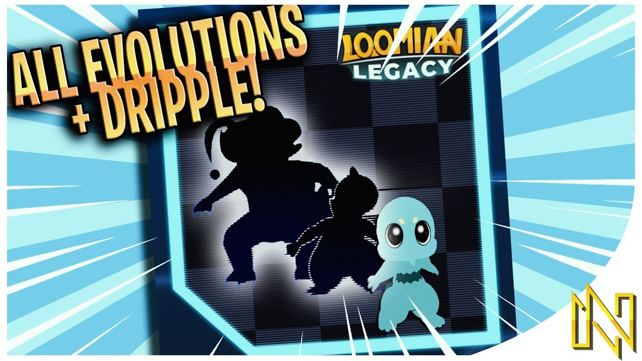 New Dripple Evolution All Evolutions Loomian Legacy By Naits