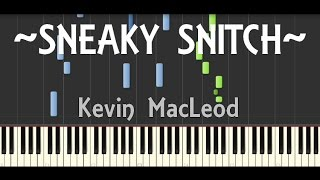 Synthesia |  Sneaky Snitch - Kevin MacLeod