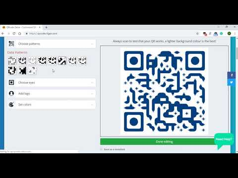 How To Make a Social Media QR Code with Logo + Track Data |   Learn how to make Social Media QR code.