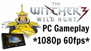 Atomos Shogun Capture Test | The Witcher 3 Wild Hunt PC Gameplay at 1080p 60fps (MAX SETTINGS)