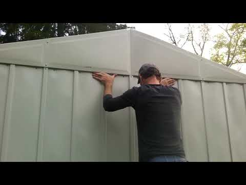 How to Easily Move a Metal Shed by Yourself for Free