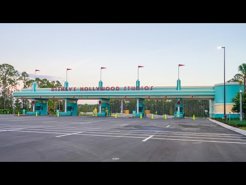 NEW Hollywood Studios Parking Lot Entrance 2018
