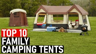 👉 TOP 10 Bęst Large Family Tents For Camping [2020-2021] Best Outdoor Camping Tents