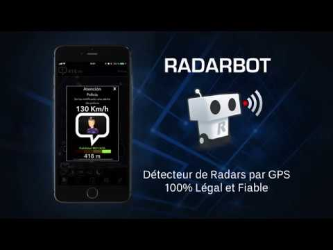 radarbot d tecteur de radars gratuit youtube. Black Bedroom Furniture Sets. Home Design Ideas