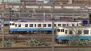 JR四国 高松運転所 キハ40 キハ47 留置