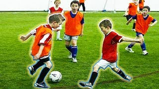 FUNNY KIDS IN FOOTBALL ● FAILS, SKILLS, GOALS