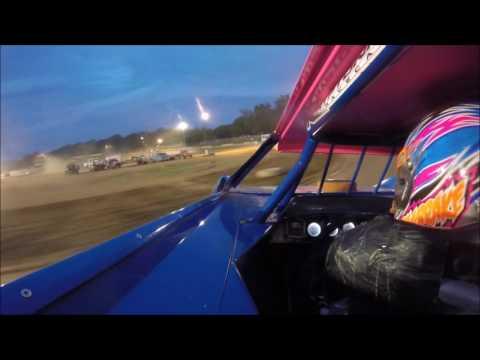 Lauren Longbrake GoPro Heat @ Tyler County Speedway 7-1-17