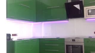 Скрытая диодная подсветка на кухне(, 2014-01-10T12:09:15.000Z)