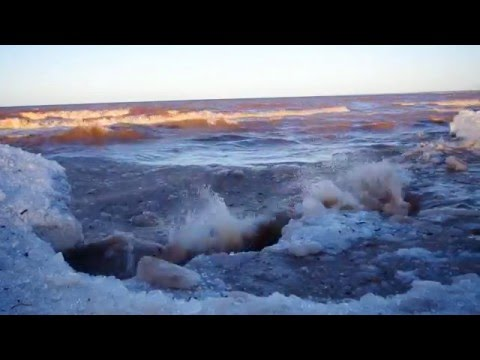 Lake Superior - Wisconsin Point - Ice recession
