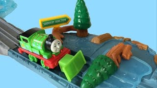 Thomas and Friends Toy Trains Take n Play Lake Levee Repair Set with Die Cast  Percy