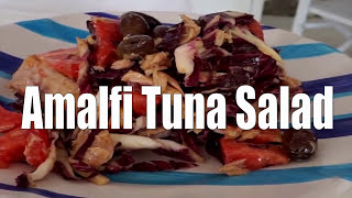 Amalfi Tuna Salad How To Make This! So Easy & Delicious!