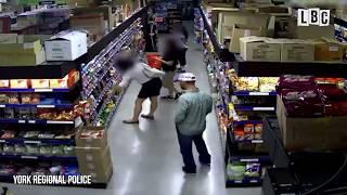 "Video Nasty Human caught on CCTV Catches Moment Man ""Upskirts"" Woman In Supermarket download MP3, 3GP, MP4, WEBM, AVI, FLV Juli 2018"