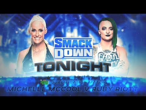 WWE 2K20 Universe Mode  - SDL - Michelle McCool v Ruby Riott - MITB Qualifying Match