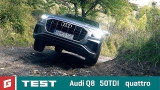 AUDI Q8 50 TDI - V6 - SUV - TEST - GARAZ.TV - Rasťo Chvála