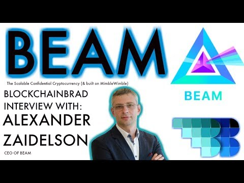 Beam: The New Scalable Confidential Cryptocurrency | BlockchainBrad | MimbleWimble | Crypto privacy