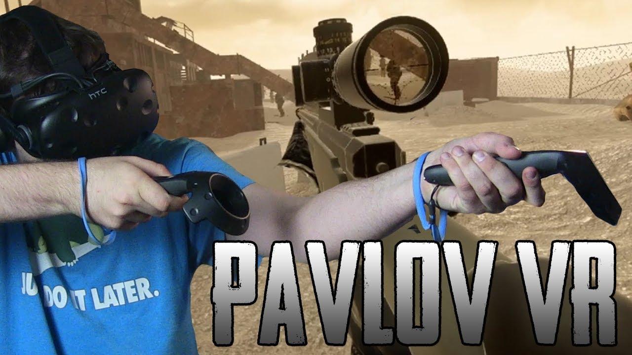 CS:GO na VR?! – Pavlov VR (HTC VIVE VR)