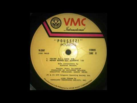 Poussez - Never gonna say goodbye (1979) Vinyl