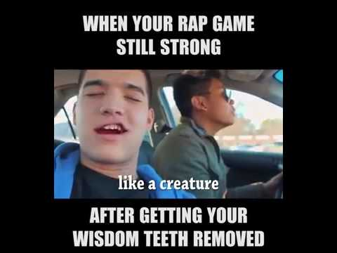 Alex Wassabi - When Your Rap Game Strong Even After Getting Your Wisdom Teeth Removed