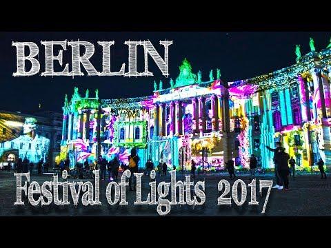 Festival of Lights Berlin Germany 2017 [Hyperlapse // Timelapse]