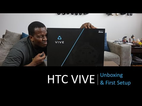 HTC Vive Unboxing & First Setup