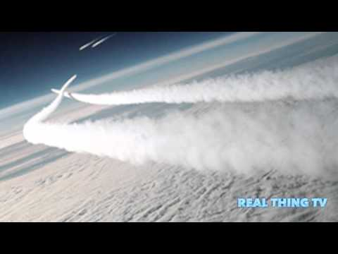 Aircraft contrails changing the atmosphere, exposing more solar radiation,