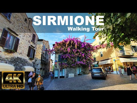 Sirmione Walking Tour | LAKE GARDA | 🇮🇹 ITALY ( 2020 September )