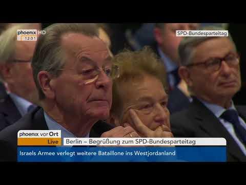 Bundesparteitag der SPD: Rede des Parteivorsitzenden Martin Schulz am 07.12.17