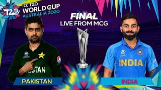 T20 WORLD CUP 2020 FINAL : PAKISTAN vs INDIA LIVE STREAM | CRICKET 19 GAMEPLAY