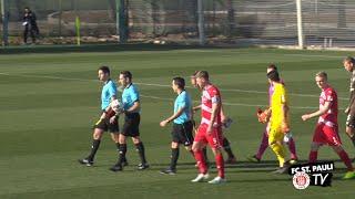 Trainingslager in Valencia - Testspiel gegen Arminia Bielefeld | FC St. Pauli TV