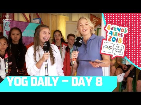 Kamri Noel explores the Youth Olympics | YOG Daily Show | Day 8 | YOG Buenos Aires 2018
