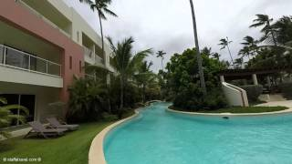 Walking Tour from Beach to Buffet at Secrets Royal Beach All-Inclusive Resort