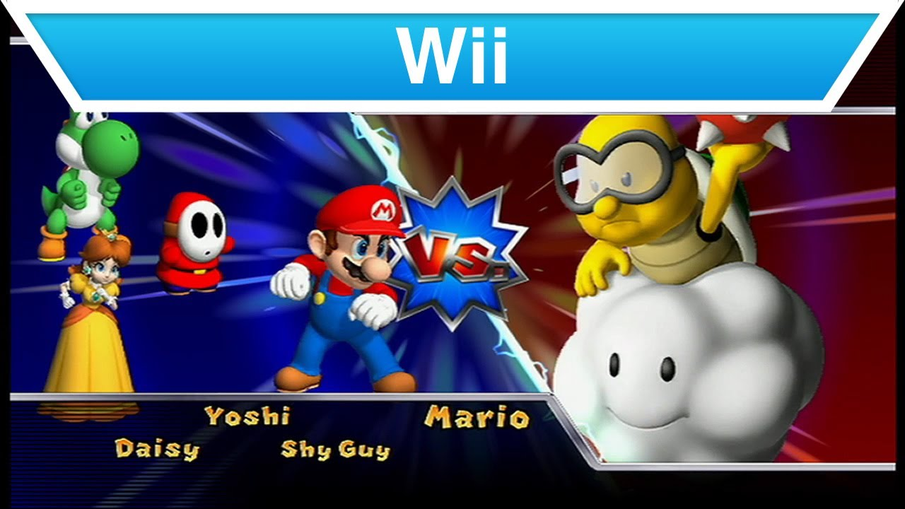 Wii Mario Party 9 Trailer Youtube