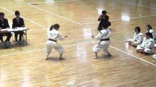 第50回記念少林寺拳法関東学生大会 女子二段以上の部 第4位 早稲田大学...
