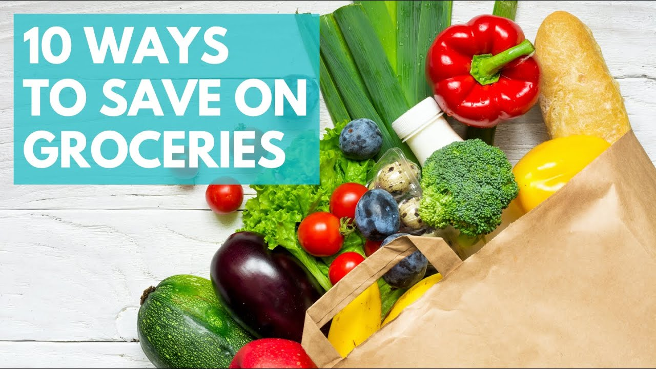 Eating on a Budget   10 EASY Ways to Save Money on Groceries