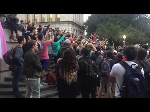 Anti-Trump Student Protest March / University of Texas at Austin / November 9, 2016