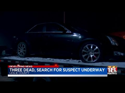 Three Dead, Search For Suspect Underway