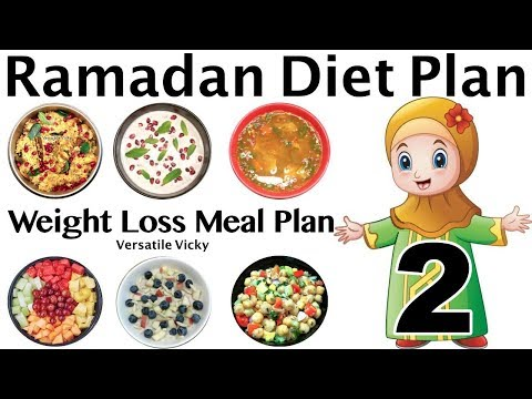 Ramadan Diet Plan 2 | Ramzan Meal Plan For Weight Loss | Lose Weight 20 Kgs in 30 Days