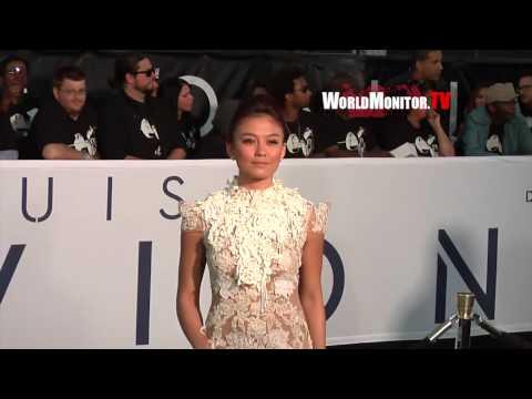 'Agnes Monica' sizzling hot arrives at OBLIVION Los Angeles Film Premiere