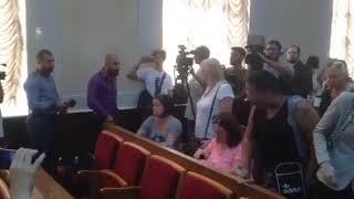 В Одессе родители детей из лагеря