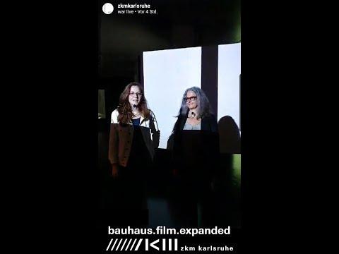 Online Führung durch »bauhaus.film.expanded«